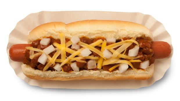 White Bean Hot Dog Chili